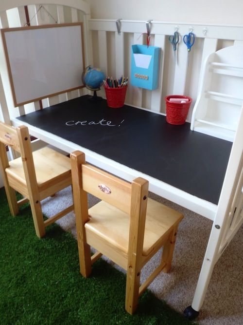 Chalk crib desk