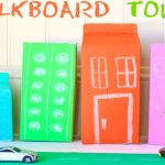 Chalkboard Town: Fun Summer Activity With Kids