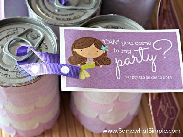 10 Creative DIY Kids Birthday Party Invitations Design Dazzle – Creative Birthday Invites