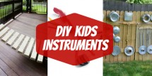 DIY Kids Instruments