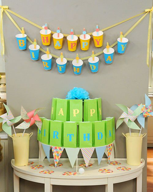 10 best diy birthday banners design dazzle party cup birthday banner solutioingenieria Images