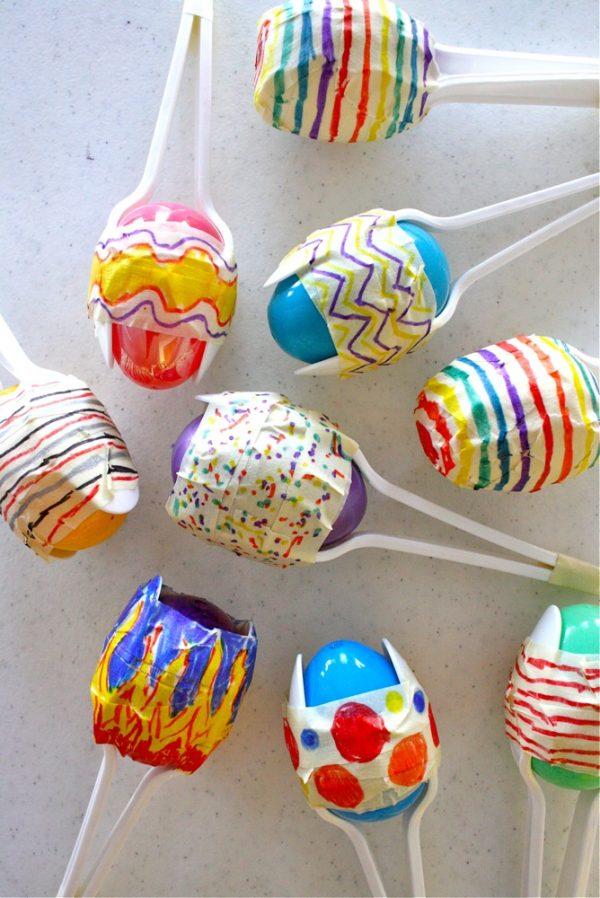 easter egg shakers