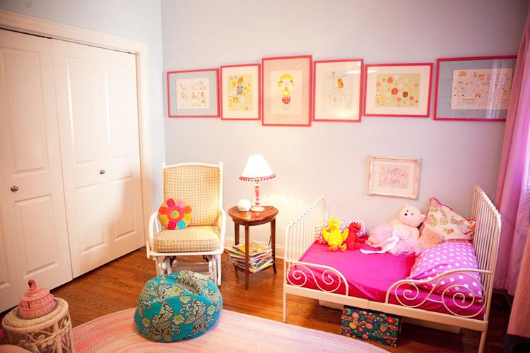 10 girls toddler rooms design dazzle - Images of kiddies decorated room ...