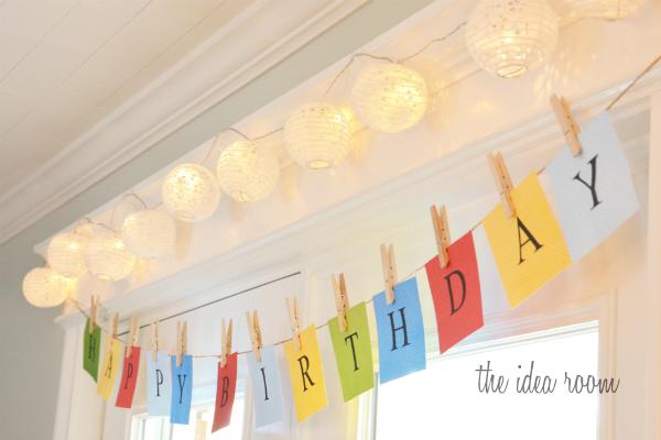 10 Best DIY Birthday Banners - Design Dazzle