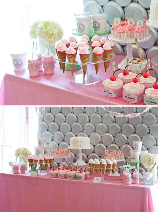 Summer Party Theme - Ice Cream Party