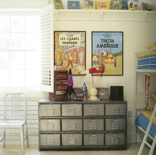 locker storage in kids rooms design dazzle rh designdazzle com Locker Room Layout Steam Room