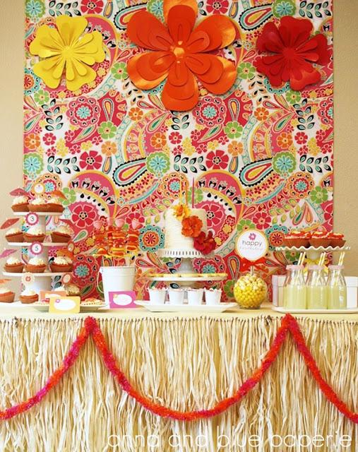 Luau Birthday Party theme