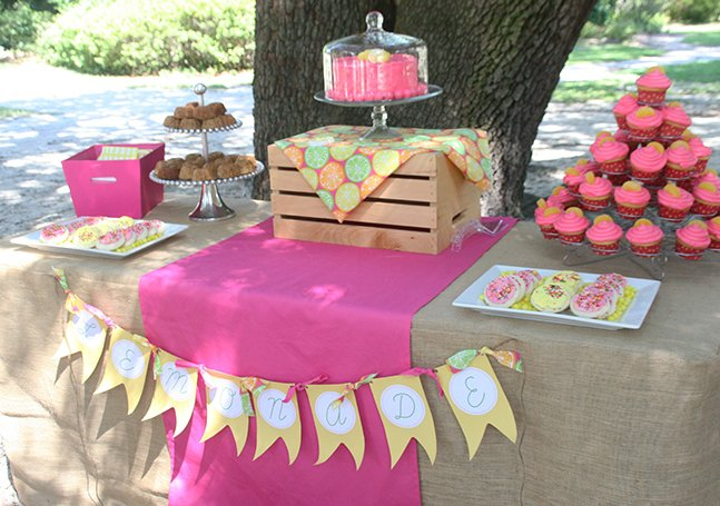 Great Summer Party Themes - Lemonade or Citrus Theme