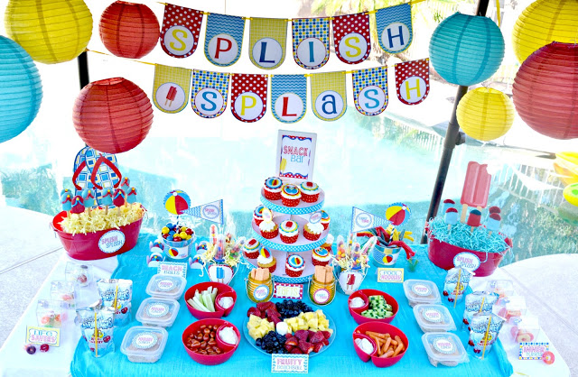 Summer Party Themes - Pool Party