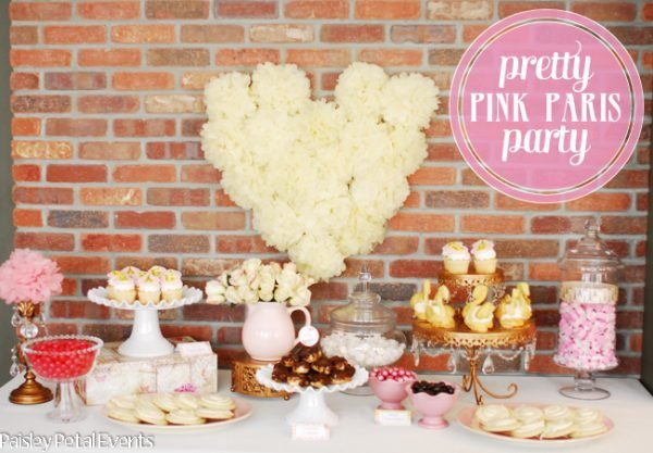 Pretty Pink Paris Party