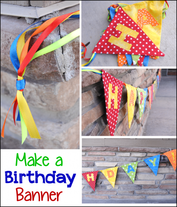 how to make homemade banners