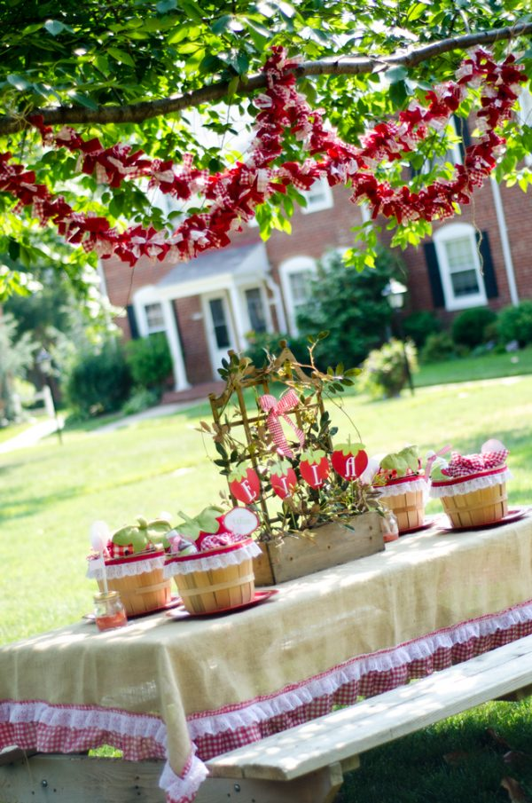 Summer Party Themes - Strawberry Picnic Party