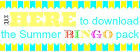 Click here to download the Summer BINGO pack