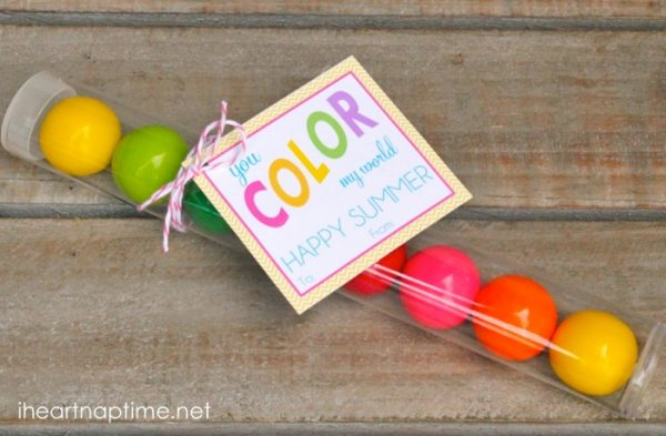 You Color My World Tags