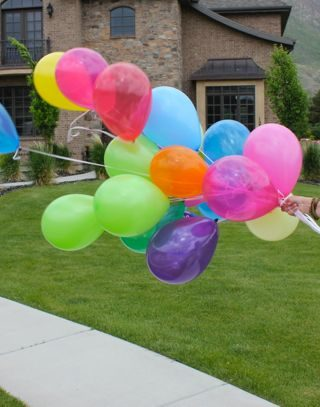 Celebrating Everyday Moments With Balloons + Giveaway!