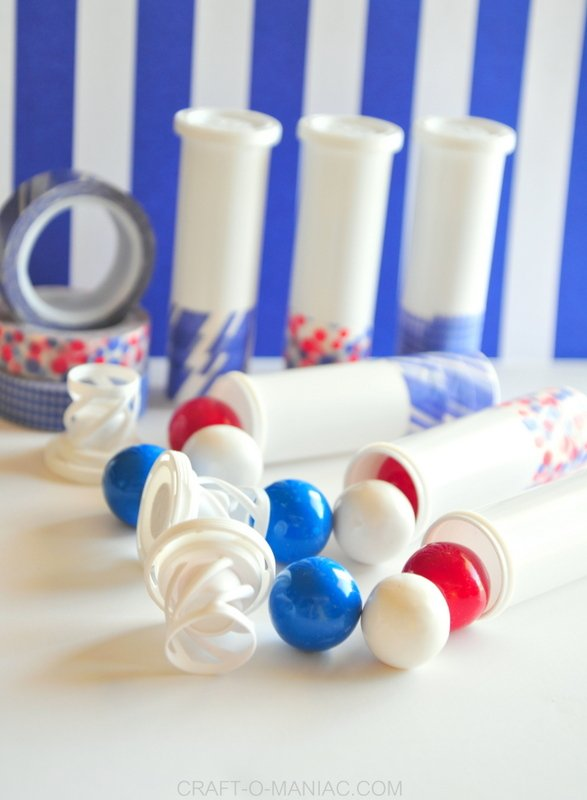 4th of july gumball container poppers 2