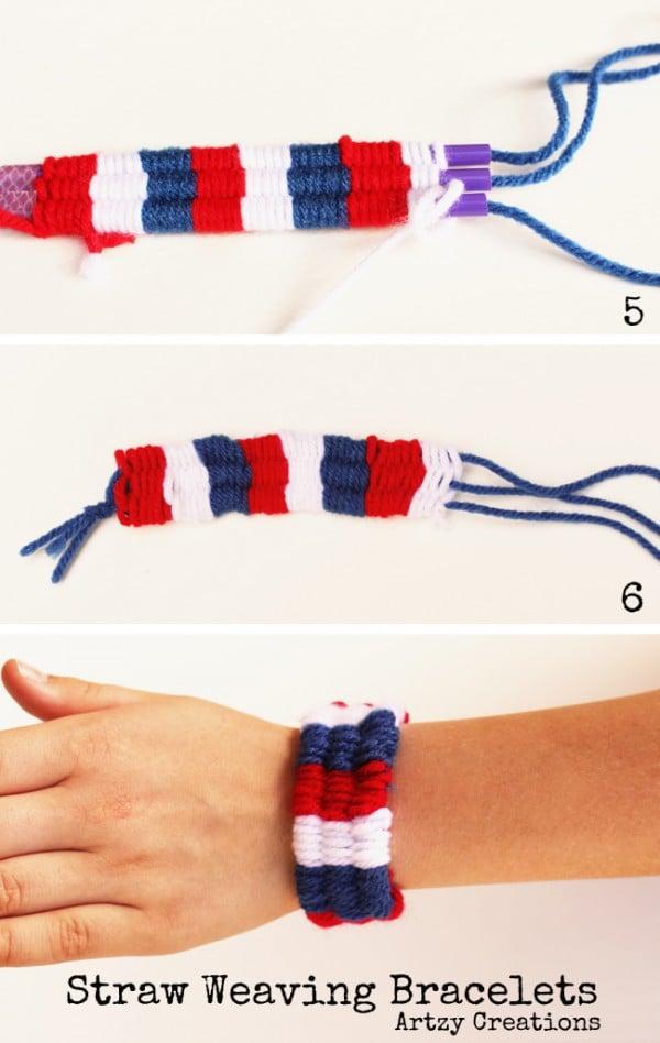 Straw Weaving Bracelets Design Dazzle