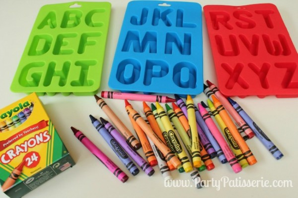 Making Colorful Crayons featured on Design Dazzle