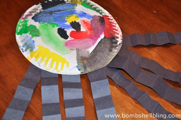 Sea Creature Kid Crafts-11
