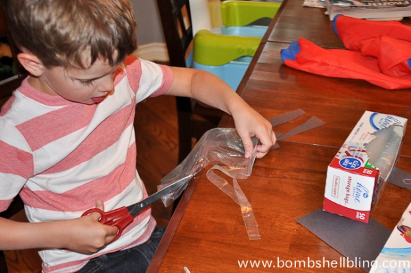 Sea Creature Kid Crafts-12