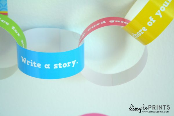 Summer Im Bored Paper Chain Printable by DimplePrints-5