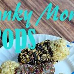 No Bake Chunky Monkey Pop