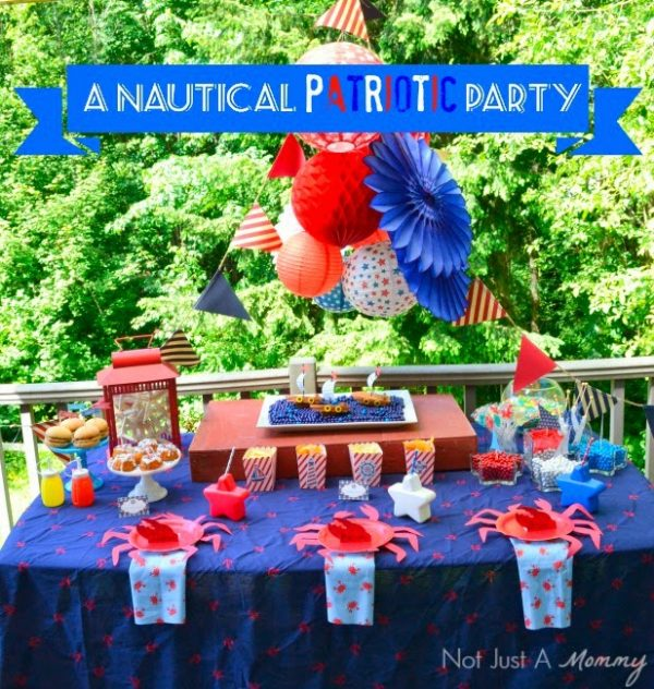 Ideas for a Nautical Patriotic Party!