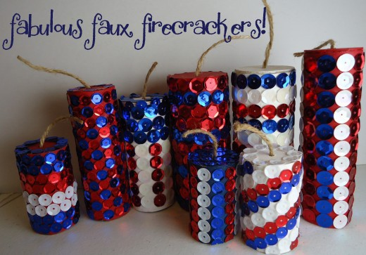 4th of July Kids Crafts! Fabulous Faux Firecrackers!