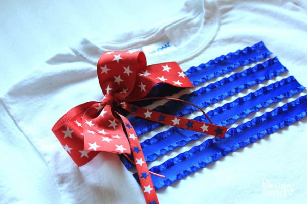 No Sew 4th of July T-Shirt | Design Dazzle