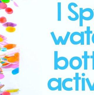 I Spy Sensory Water Bottle