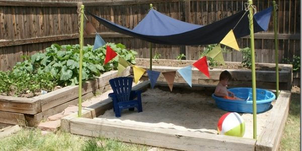 Bring the Beach to your Backyard with a Sandbox