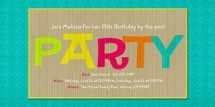 Summer Party Invitation from Evite