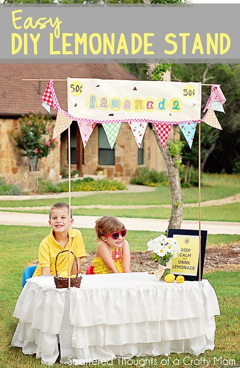 lemonade stand ideas design dazzle. Black Bedroom Furniture Sets. Home Design Ideas