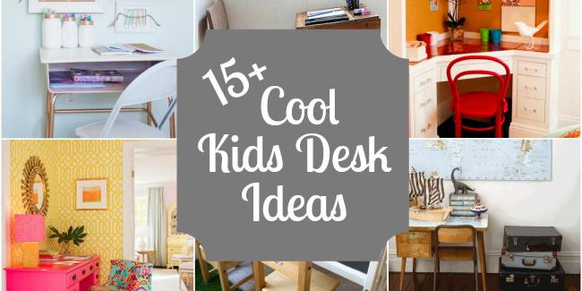 15 Kids Desks Design Dazzle