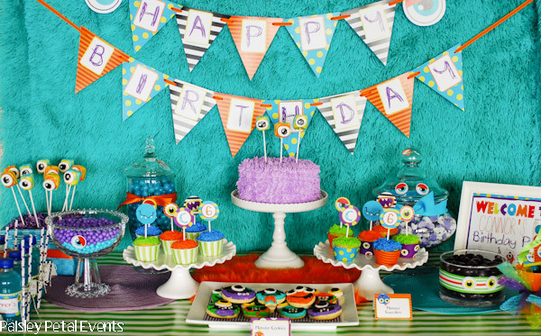 Fabulous Monster Party Ideas