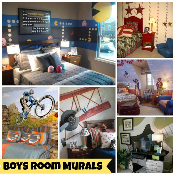 Cool Murals For Boys Rooms Featured On Design Dazzle