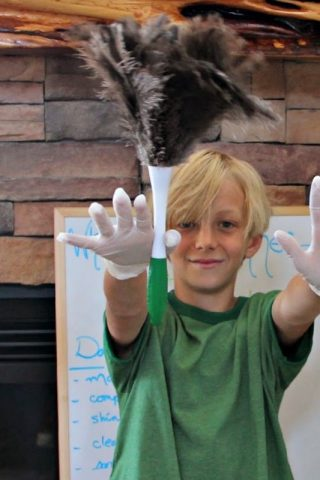White Glove Summer: learning new cleaning skills and chore systems