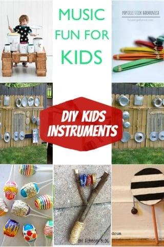 Diy kids instruments
