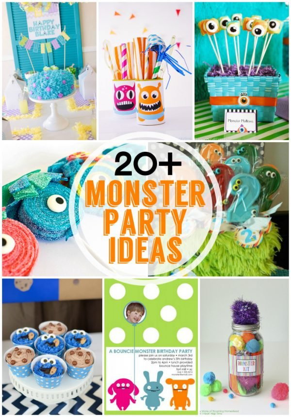 Fabulous Monster Party Ideas Design Dazzle