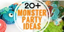 fabulous monster party ideas featured image