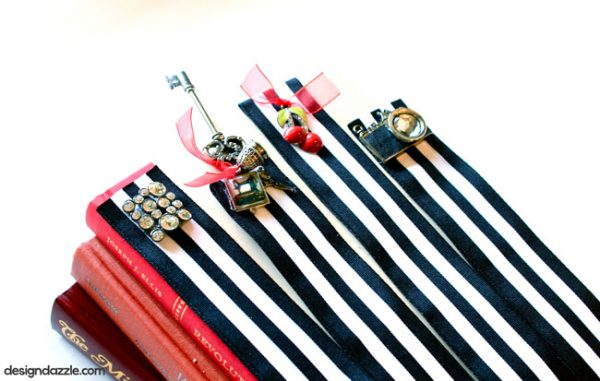 DIY Jewelry Bookmarks - Design Dazzle