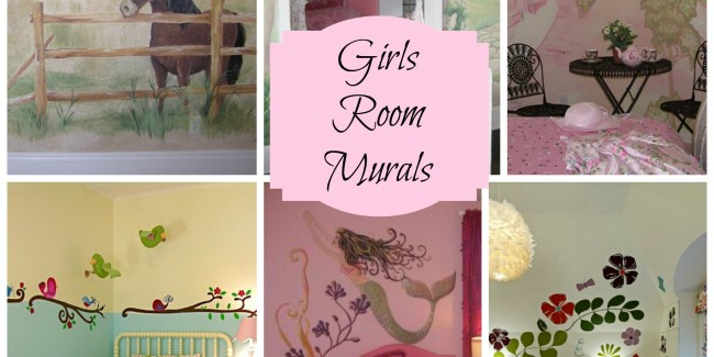 Murals for Girls Rooms