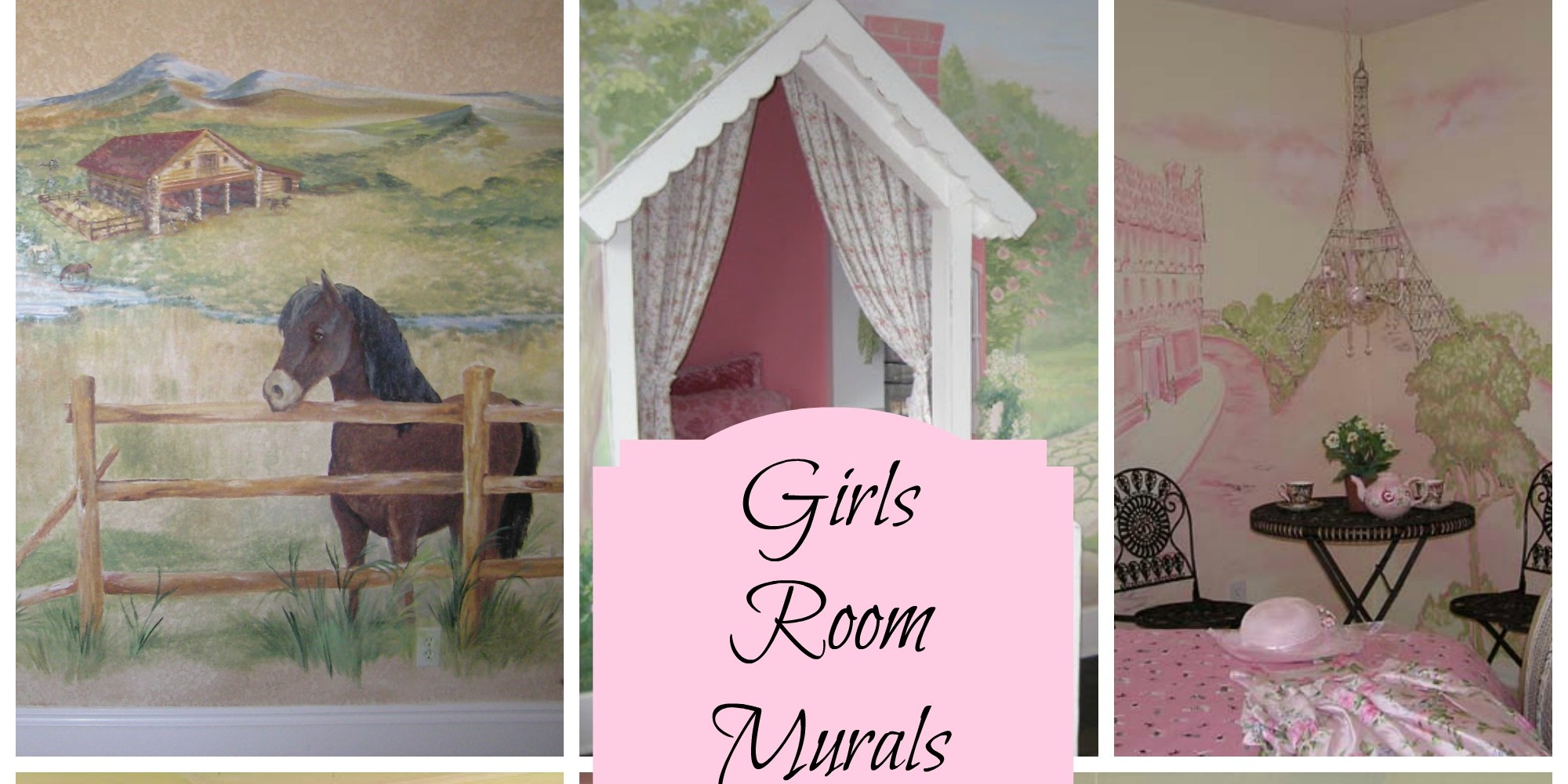 Murals for Girls Rooms