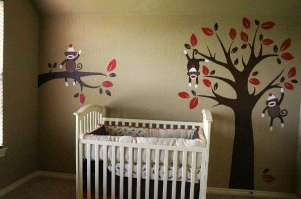 Monkey Nursery Decor Thenurseries