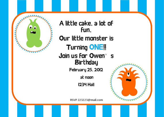 make your own monster activity at her sonu0027s monsters inc birthday party monster party invite