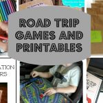 Road Trip Games and Printables