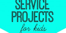 service projects for kids fi