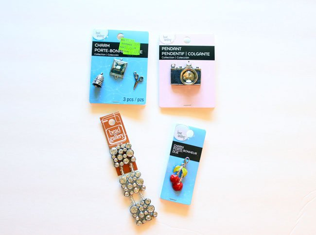 jewelry/charm supplies from Michaels Stores