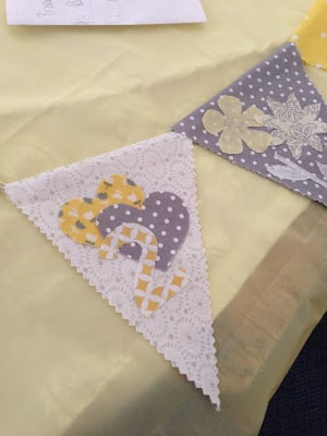 Make a Baby Bunting at your next baby shower