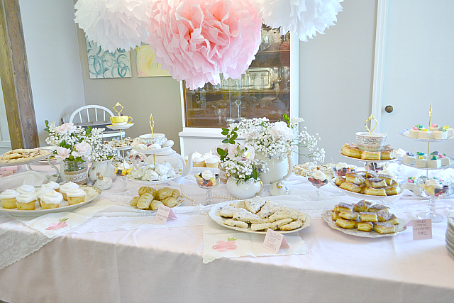 Lovely Southern Tea Party Baby Shower